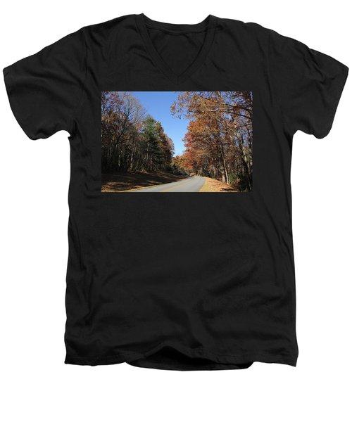 Blue Ridge Parkway Men's V-Neck T-Shirt
