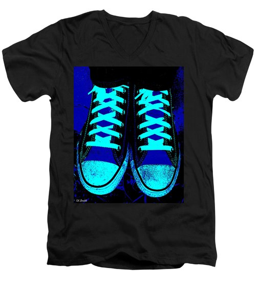 Blue-tiful Men's V-Neck T-Shirt