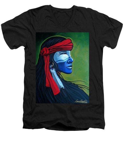 Bluface Men's V-Neck T-Shirt