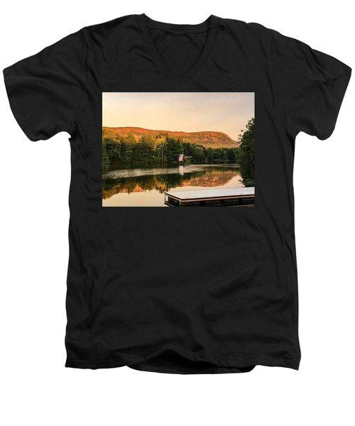 Boardwalk Sunset Men's V-Neck T-Shirt