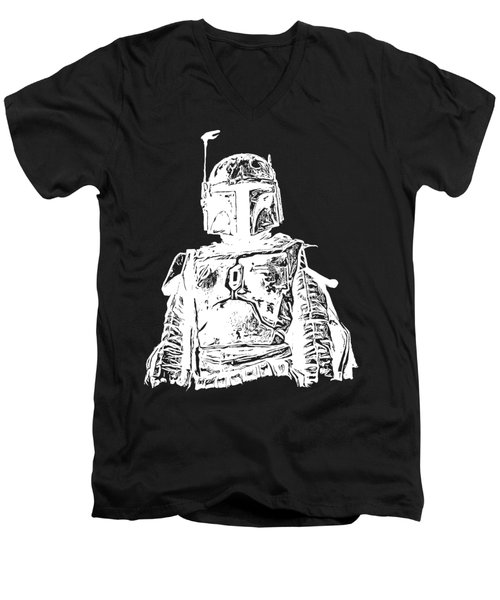 Boba Fett Tee Men's V-Neck T-Shirt