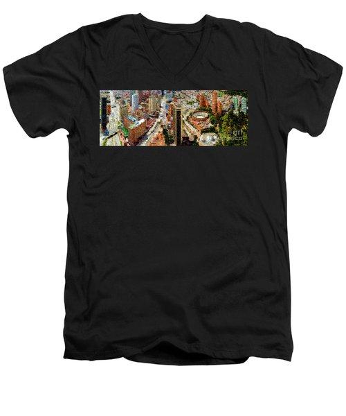 Bogota Colombia Men's V-Neck T-Shirt