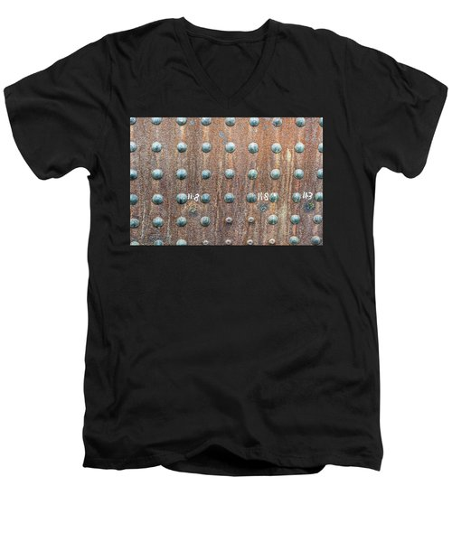 Boiler Rivets Men's V-Neck T-Shirt