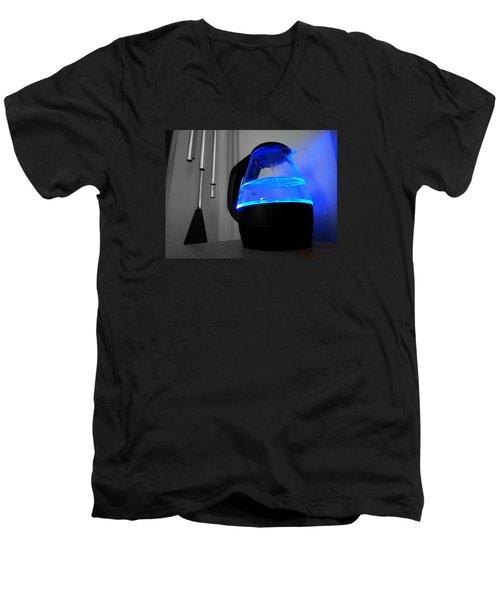 Boiling Blue Men's V-Neck T-Shirt
