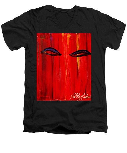 Bollywood Eyes Men's V-Neck T-Shirt