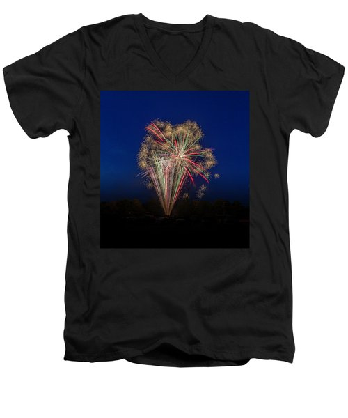 Bombs Bursting In Air II Men's V-Neck T-Shirt
