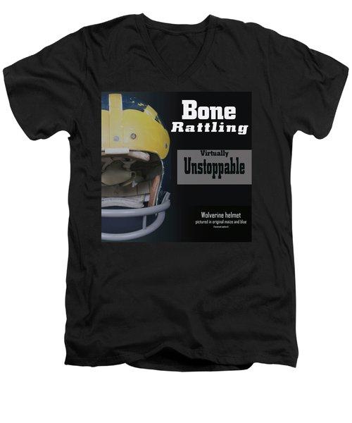 Bone Rattling Virtually Unstoppable Men's V-Neck T-Shirt