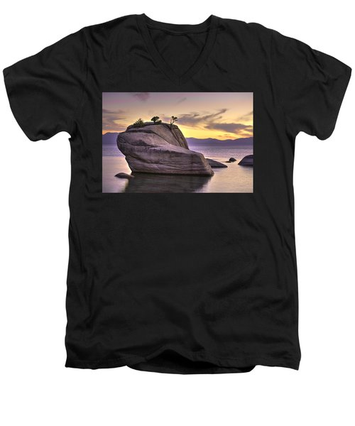 Bonsai Rock II Men's V-Neck T-Shirt