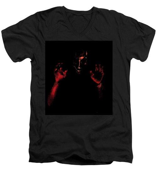 Boo Men's V-Neck T-Shirt