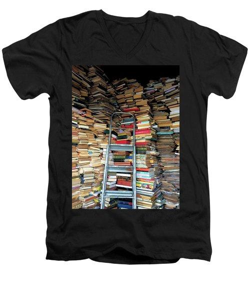 Books For Sale Men's V-Neck T-Shirt