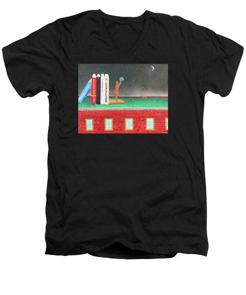 Books Of Knowledge Men's V-Neck T-Shirt