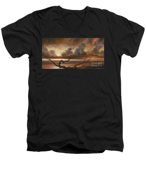 Botany Bay Men's V-Neck T-Shirt