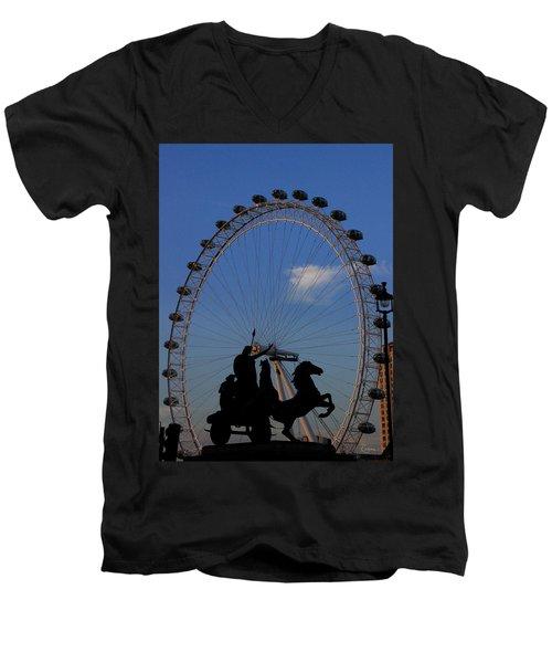 Boudicca's Eye Men's V-Neck T-Shirt