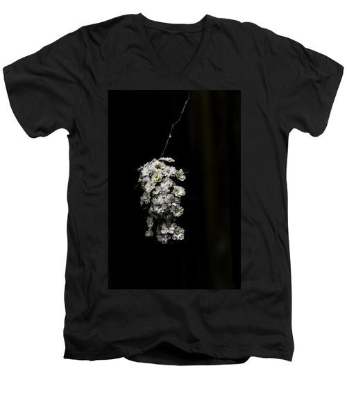 Bouquet Of White Men's V-Neck T-Shirt