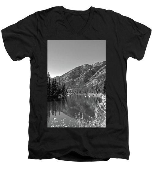Bow River No. 2-2 Men's V-Neck T-Shirt