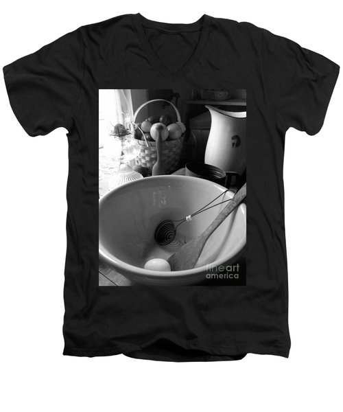 Men's V-Neck T-Shirt featuring the photograph Bowl by Brian Jones