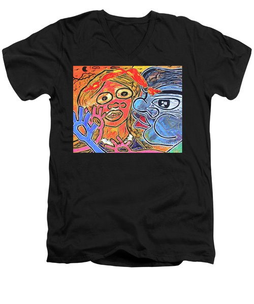 Boy Meets Girl Men's V-Neck T-Shirt