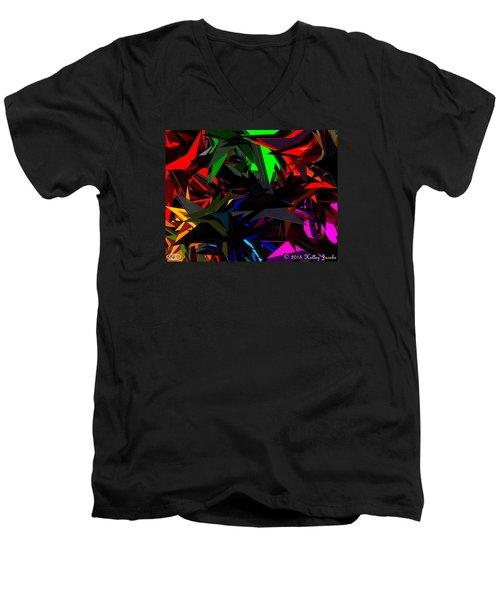 Brave Men's V-Neck T-Shirt