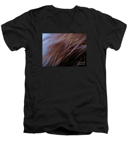 Men's V-Neck T-Shirt featuring the photograph Breeze by Vanessa Palomino