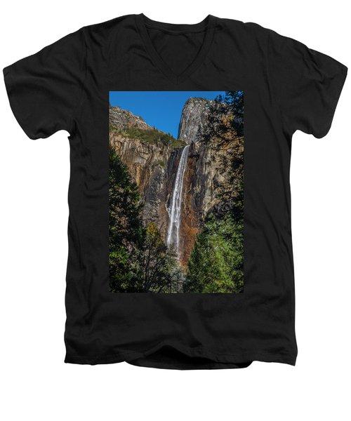 Bridal Veil Falls - My Original View Men's V-Neck T-Shirt