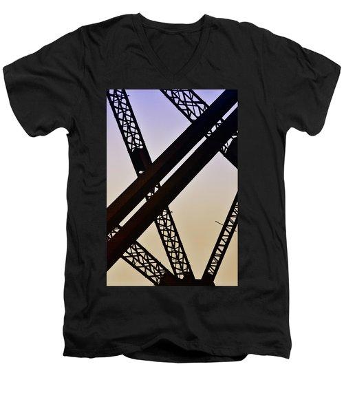 Bridge No. 1-1 Men's V-Neck T-Shirt