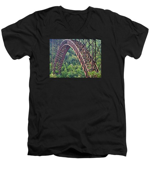 Bridge Of Trees Men's V-Neck T-Shirt