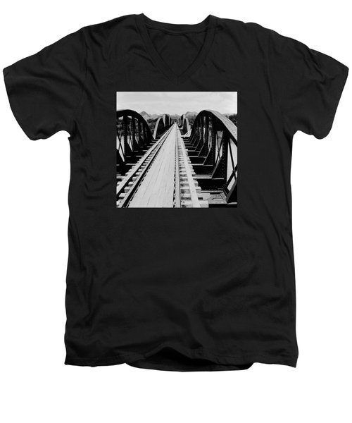 Bridge On The River Kwai Men's V-Neck T-Shirt