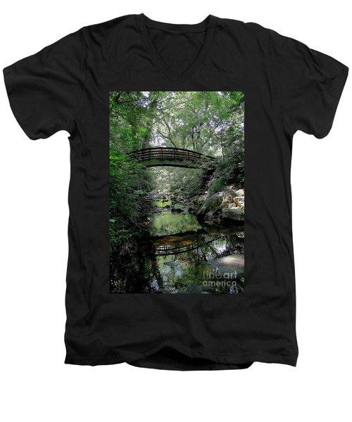 Bridge Reflections Men's V-Neck T-Shirt