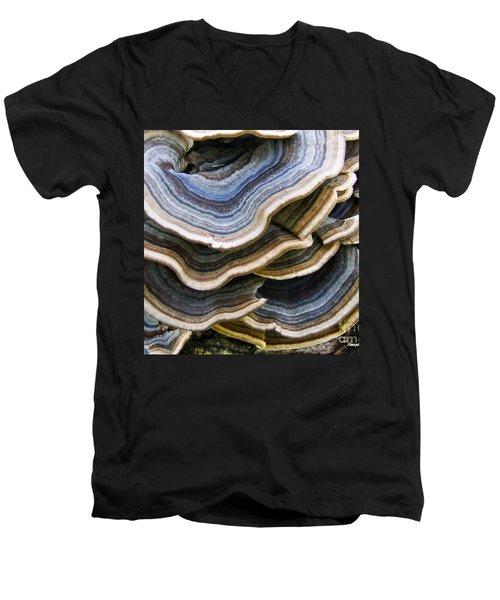 Bridgeport Mushrooms Men's V-Neck T-Shirt