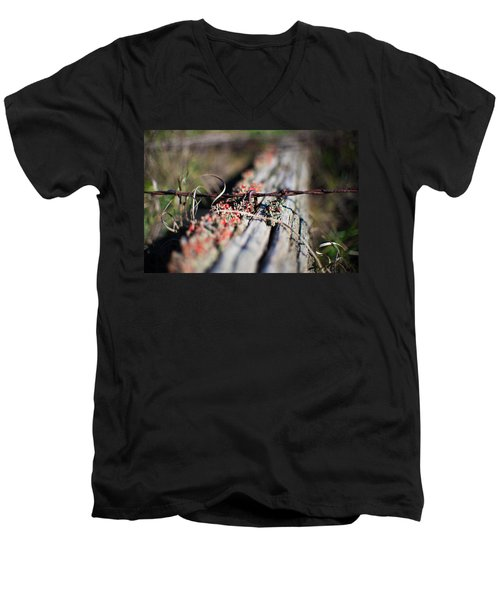 Bright Lichen Men's V-Neck T-Shirt