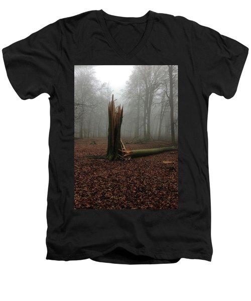Broken Oak Men's V-Neck T-Shirt