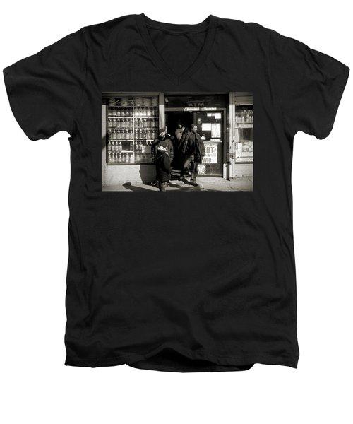 Bronx Scene Men's V-Neck T-Shirt