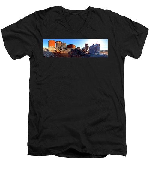 Brownes Shaft Junction Mine  Men's V-Neck T-Shirt