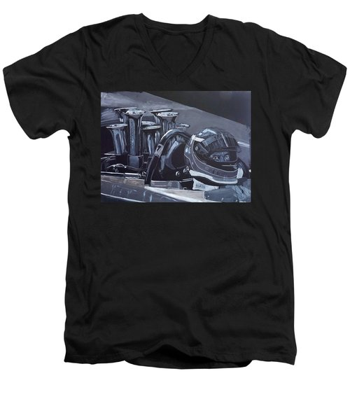 Bruce Mclaren Canam Men's V-Neck T-Shirt