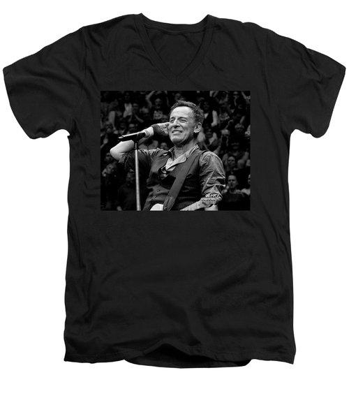 Bruce Springsteen - Pittsburgh Men's V-Neck T-Shirt