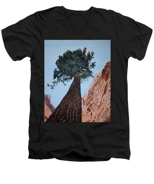 Bryce Pine Men's V-Neck T-Shirt