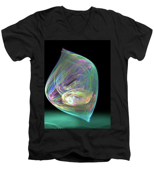 Bubbles Men's V-Neck T-Shirt