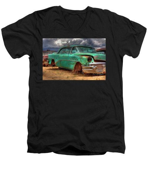 Buick Super Men's V-Neck T-Shirt