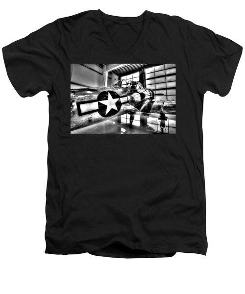 Built For Speed Men's V-Neck T-Shirt