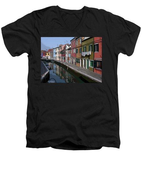 Burano Men's V-Neck T-Shirt