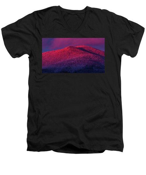 Burke Alpenglow Men's V-Neck T-Shirt