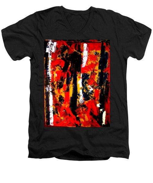 Burning Bright Men's V-Neck T-Shirt