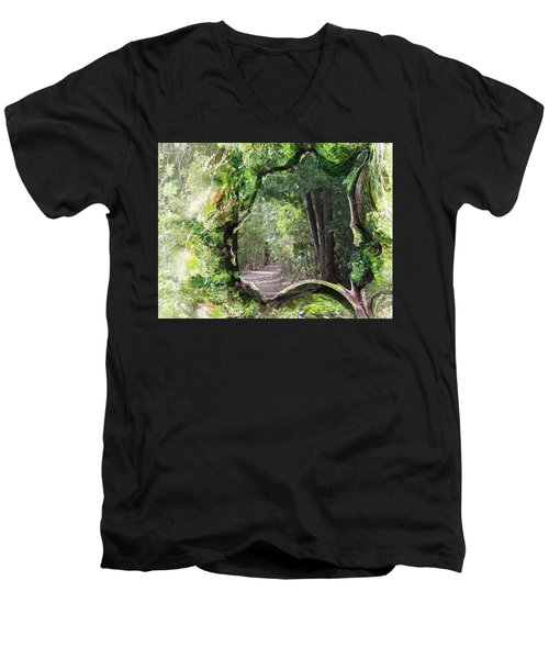 Bushwalk Men's V-Neck T-Shirt