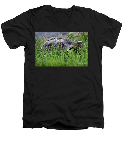 But He Has A Great Personality Men's V-Neck T-Shirt