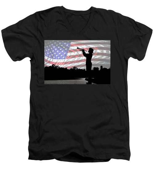 Butterfield's Lullaby  Men's V-Neck T-Shirt