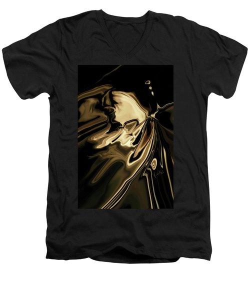 Butterfly 2 Men's V-Neck T-Shirt by Rabi Khan
