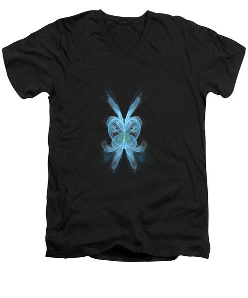 Butterfly Heart Men's V-Neck T-Shirt
