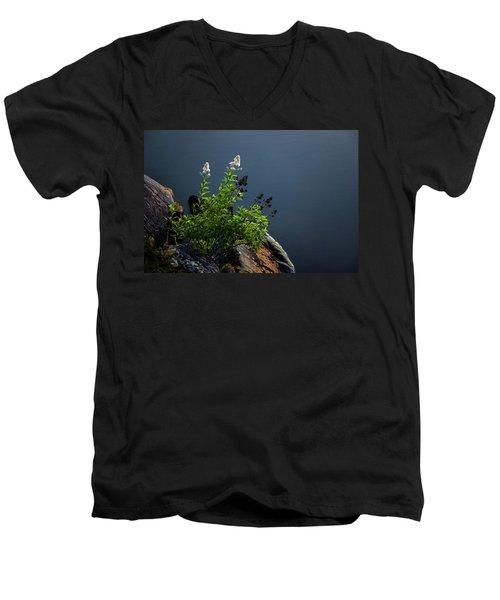 By The Edge Men's V-Neck T-Shirt