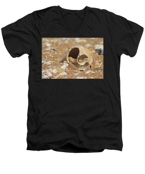 By The Sea Shore Men's V-Neck T-Shirt