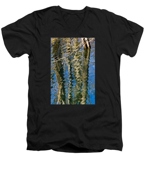C And O Abstract Men's V-Neck T-Shirt